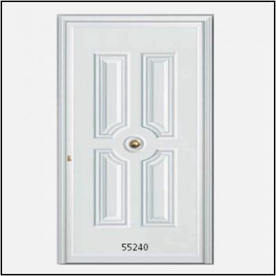 Πόρτα Εισόδου Αλουμινίου με Πάνελ 55240