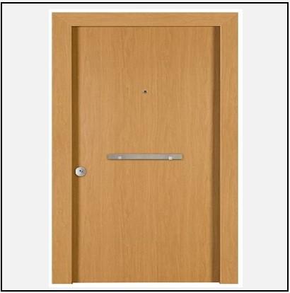 Πόρτα Θωρακισμένη Ασφαλείας Laminate 40000