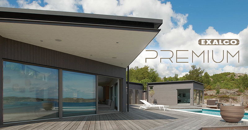 EXALCO Premium Systems: Στην αιχμή της σύγχρονης αρχιτεκτονικής