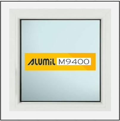 Κουφώματα Αλουμινίου Σταθερό Τζάμι Alumil 9400