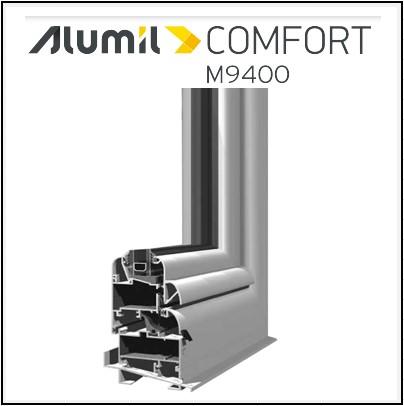 Alumil 9400 κούφωμα