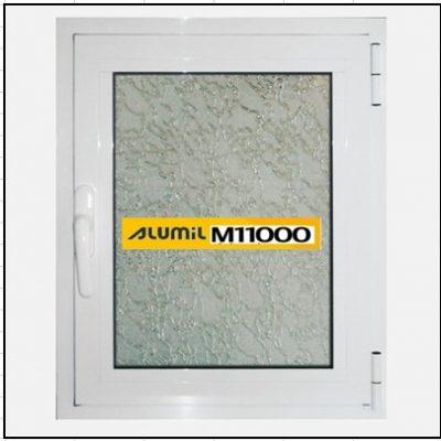 Ενεργειακό Κούφωμα Αλουμινίου Ανοιγόμενο Μονόφυλλο Τζάμι Alumil 11000 Thermo
