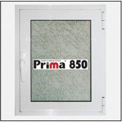 Κούφωμα Αλουμίνιο Ανοιγόμενο Μονόφυλλο Τζάμι Prima 850