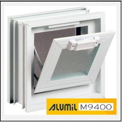 Κουφώματα Αλουμινίου Ανοιγόμενο με Κουμπάσο Τζάμι Alumil 9400