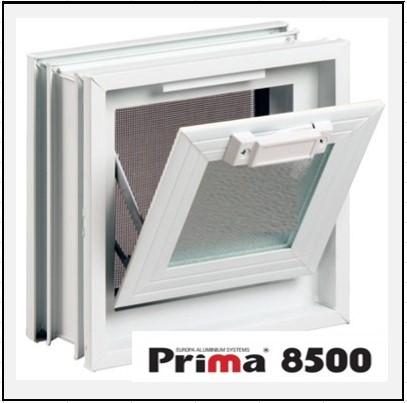 Ενεργειακό Αλουμίνιο Ανοιγόμενο με Κουμπάσο Τζάμι Prima 8500 Thermo