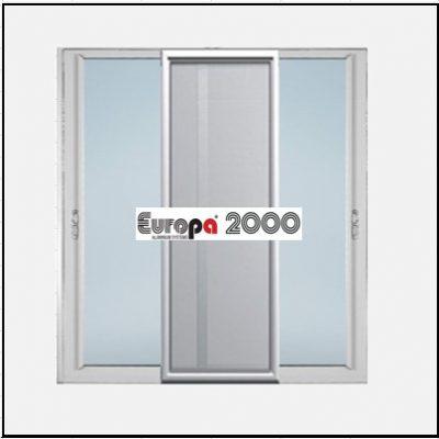 Κουφώματα αλουμινίου Δίφυλλο Επάλληλο Σήτα Europa 2000