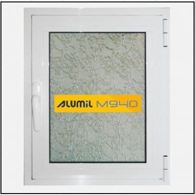 Κούφωμα Αλουμινίου Ανοιγόμενο Μονόφυλλο Τζάμι Alumil 940