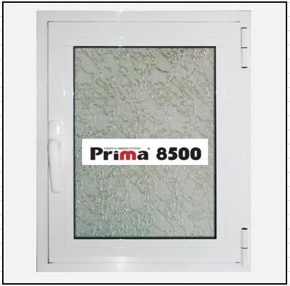Ενεργειακό Κούφωμα Αλουμινίου Ανοιγόμενο Μονόφυλλο Τζάμι Prima 8500 Thermo