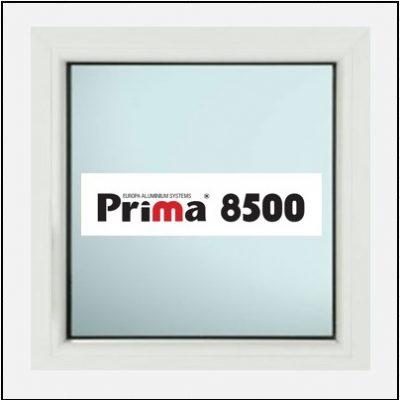Κούφωμα Αλουμινίου Σταθερό Τζάμι Prima 8500 Thermo
