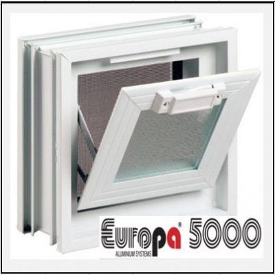 Κούφωμα Αλουμινίου με Κουμπάσο Europa 5000