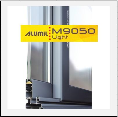 Alumil 9050 light exal