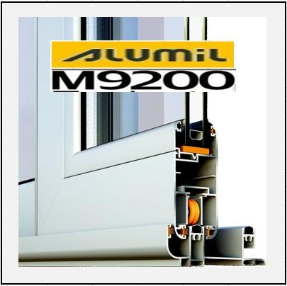 Alumil 9200 κούφωμα