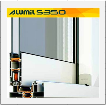 Alumil S 350 Thermo κούφωμα