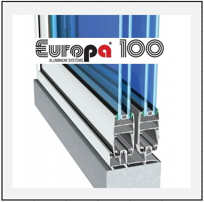 Europa 100 κούφωμα