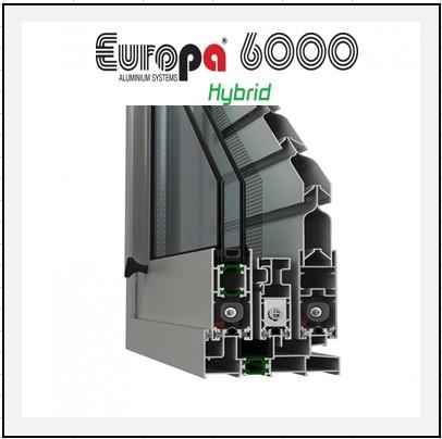 Europa 6000 Thermo κούφωμα