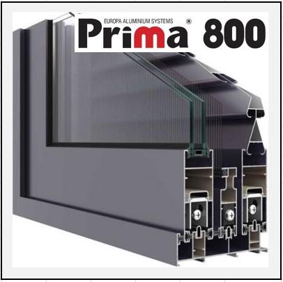 Prima 800 κούφωμα