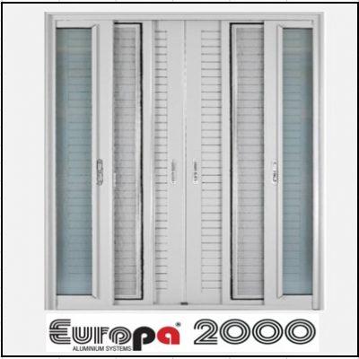 Δίφυλλο Χωνευτό Τζάμι Σήτα Πατζούρι Europa 2000
