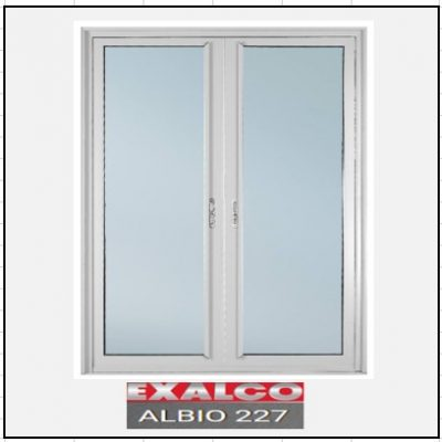 Ενεργειακά κουφώματα Δίφυλλο Χωνευτό Τζάμι Exalco 227 Thermo
