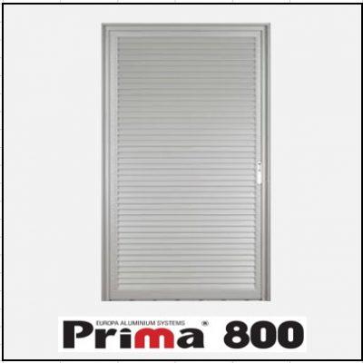 Κουφώματα αλουμινίου Μονόφυλλο Χωνευτό Πατζούρι Prima 800