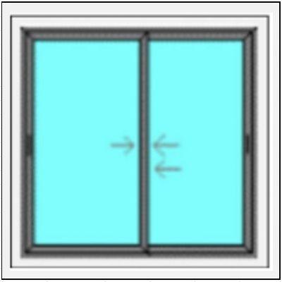 Δίφυλλο Επάλληλο PVC Σήτα