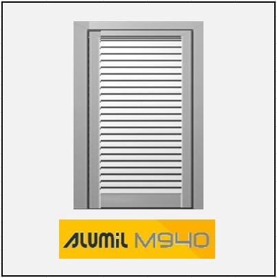 Μονόφυλλο Ανοιγόμενο Πατζούρι Alumil 940