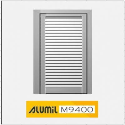 Μονόφυλλο Ανοιγόμενο Πατζούρι Alumil 9400