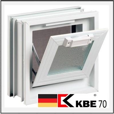 Συνθετικά κουφώματα PVC Κουμπάσο Τζάμι KBE 70