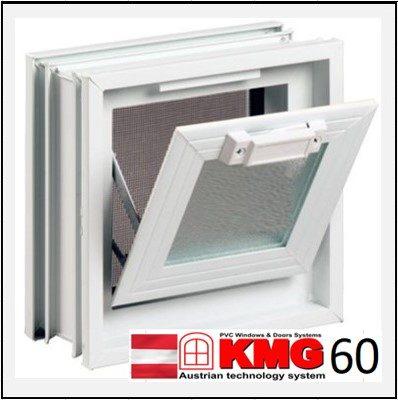 Συνθετικά κουφώματα PVC Κουμπάσο Τζάμι KMG 60