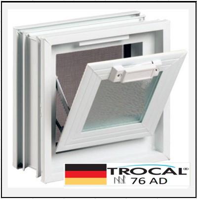Συνθετικά κουφώματα PVC Κουμπάσο Τζάμι TROCAL 76 AD τριπλό γυαλί