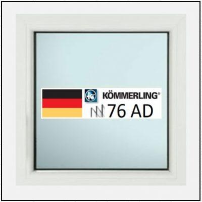 Συνθετικά κουφώματα PVC Σταθερό Τζάμι KÖMMERLING 76 AD τριπλό γυαλί