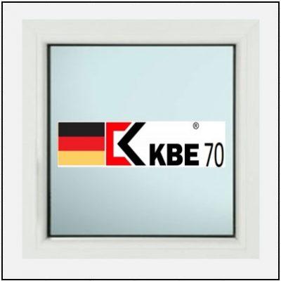 Συνθετικά κουφώματα PVC Σταθερό Τζάμι KBE 70