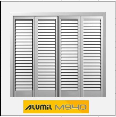 Τετράφυλλο Ανοιγόμενο Πατζούρι Alumil 940