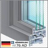 PVC KÖMMERLING 76 AD τριπλό γυαλί