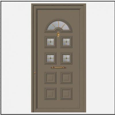 Πόρτα Εισόδου Αλουμινίου 52008