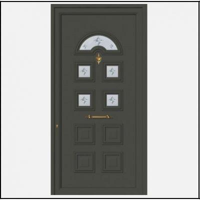 Πόρτα Εισόδου Αλουμινίου 52025