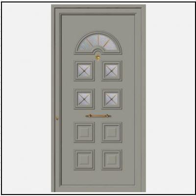 Πόρτα Εισόδου Αλουμινίου 52032