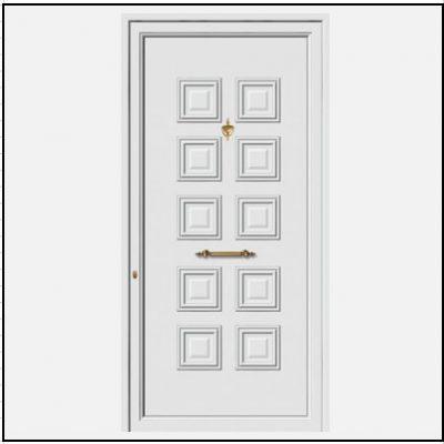 Πόρτα Εισόδου Αλουμινίου 52101