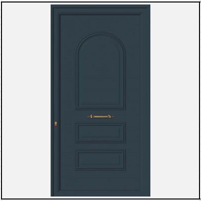 Πόρτα Εισόδου Αλουμινίου 52301