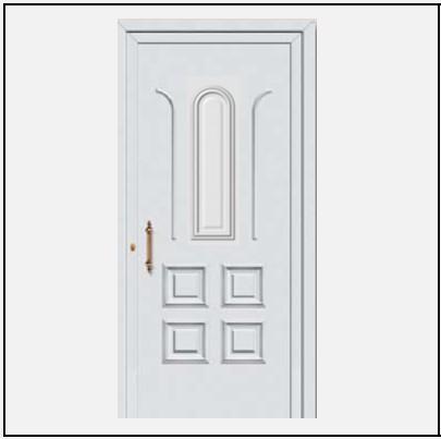 Πόρτα Εισόδου Αλουμινίου 53060