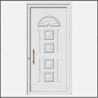 Πόρτα Εισόδου Αλουμινίου 53130
