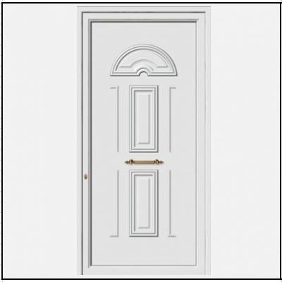 Πόρτα Εισόδου Αλουμινίου 53160
