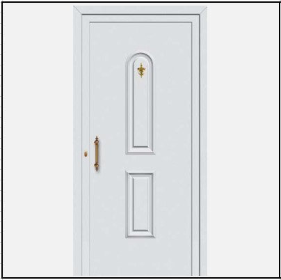 Πόρτα Εισόδου Αλουμινίου 53360
