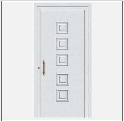 Πόρτα Εισόδου Αλουμινίου 53390