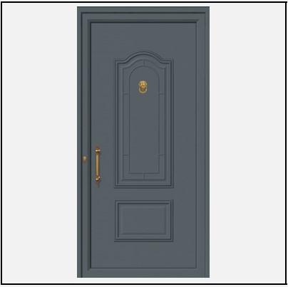 Πόρτα Εισόδου Αλουμινίου 53500