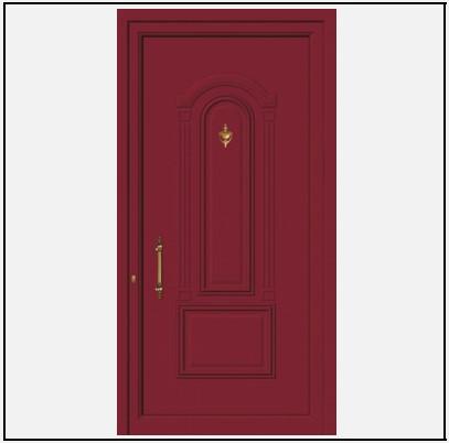 Πόρτα Εισόδου Αλουμινίου 53510