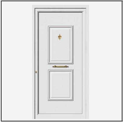 Πόρτα Εισόδου Αλουμινίου 53530