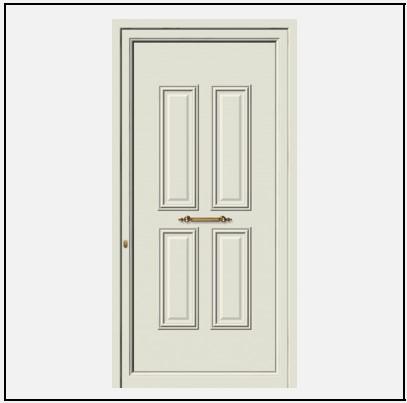 Πόρτα Εισόδου Αλουμινίου 53560