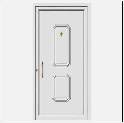 Πόρτα Εισόδου Αλουμινίου 53570