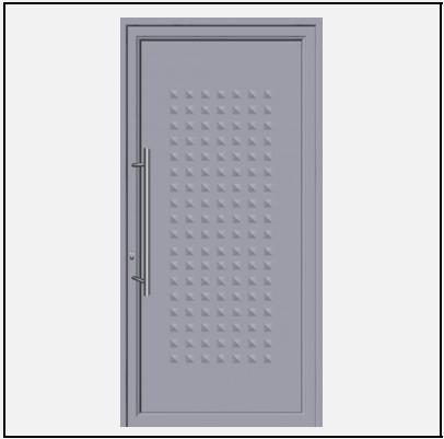 Πόρτα Εισόδου Αλουμινίου 53580