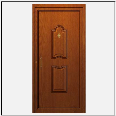 Πόρτα Εισόδου Αλουμινίου 53670